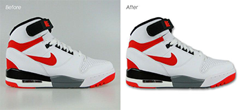 Background Removal Services for A Footwear Catalogue on The Client's Online Store
