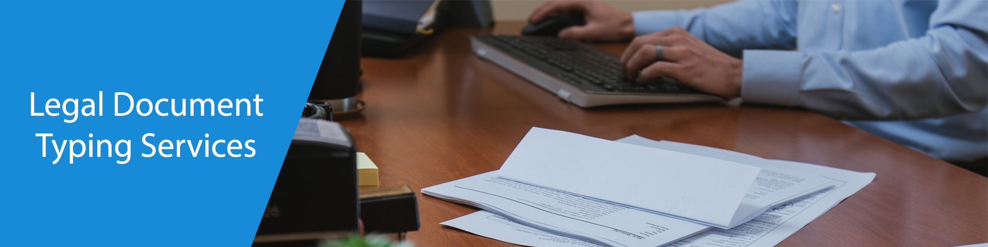 Legal documents typing Services