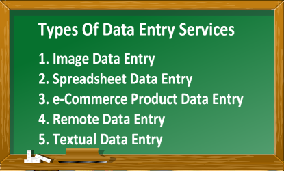 What is Data Entry